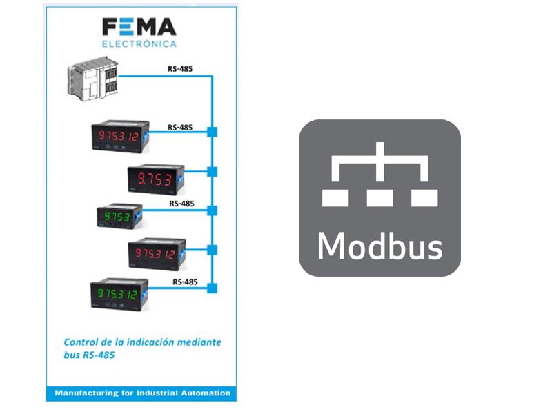 FEMA Modbus RTU Meters